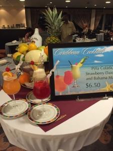 Caribbean buffet