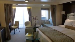 Oceania Penthouse suite